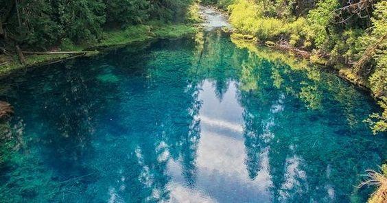 tamolitch pool tamolitch falls blue pool Bend Oregon Central
