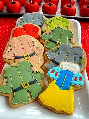 Snow White Seven Dwarves cookies