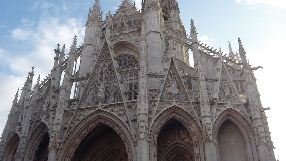 Rouen Cathedral in photo 2014