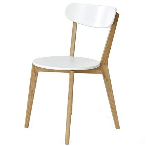 Ljfyxz Dining Chairs Kitchen Chair Modern Simplicity Arc Backrest