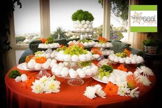 Amazing cake table idea.