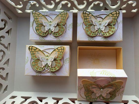 Schmetterlinge in Frühlingsfarben ~ STEMPEL...und deine Ideen werden wahr...