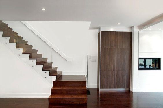 Barandillas vidrio y otros materiales, 50 escaleras de ensueño ...