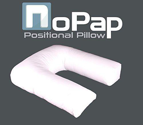 Nopap Positional Pillow - a comfortable option to aid with sleep apnea symptoms http://nopap.com #sleepapnea #sleeplikeababy