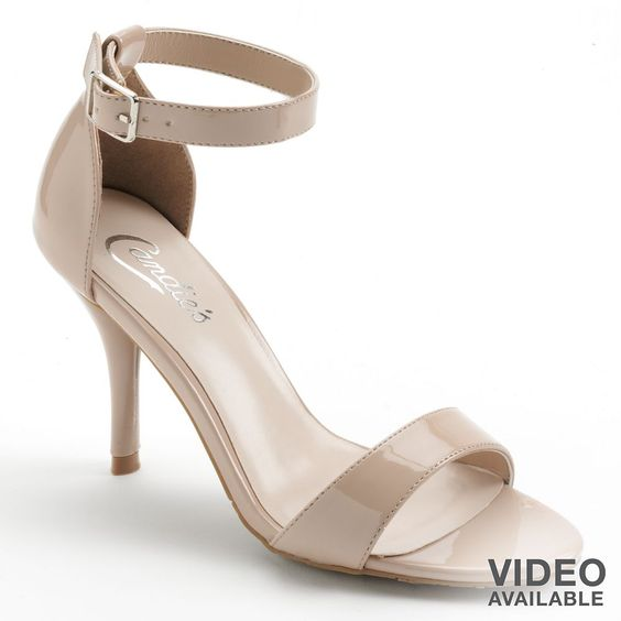 Candies Dress Sandals in Blush - the perfect nude shoe for summer