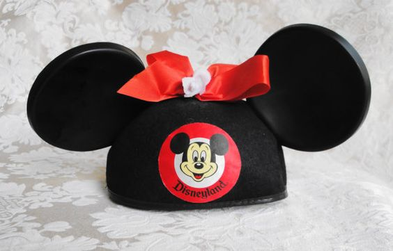Vintage Mickey Mouse Ears Hat From The Estate Of a Disney Legend-Rare Opportunity