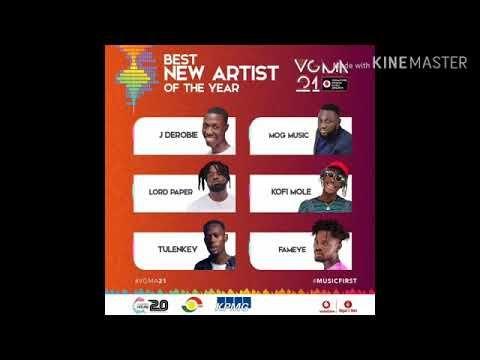 Vodafone Ghana Music Awards 2020 Nominees Vgma 2020 Nominees Vgma21 Music Awards Music New Artists