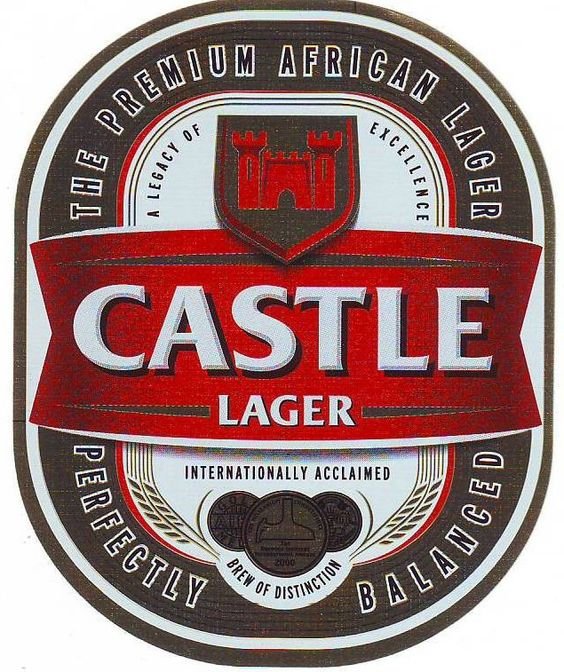Castle Lager Label Tanzania Beer Behind Our Boyz
