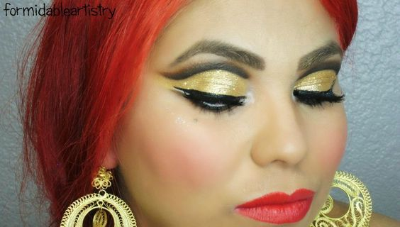 Folklorico makeup maquillaje FormidableArtistry