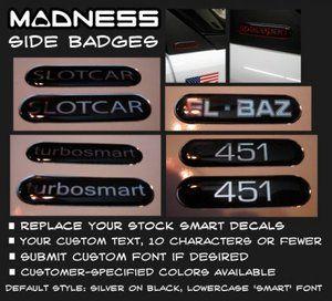 custom 'gelb' badges