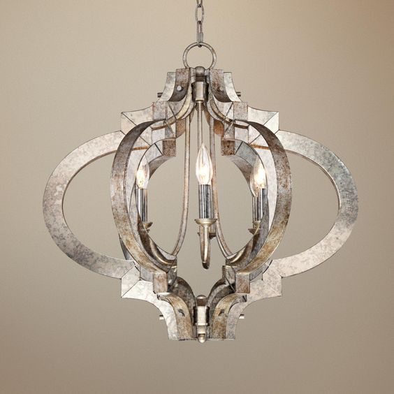 Silver Chandelier Chandeliers And Ornaments On Pinterest