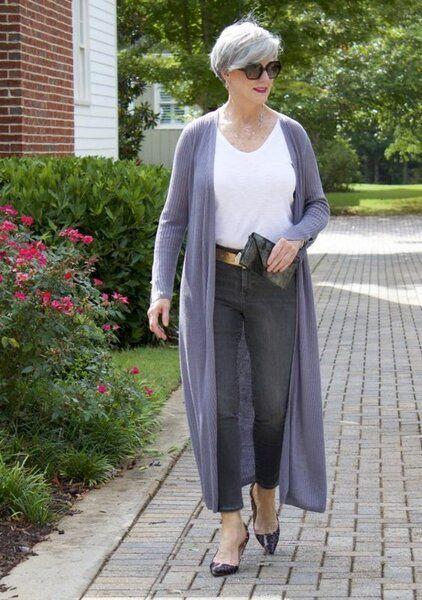 10 идей с джинсами на лето для женщин за 50 лет | Новости моды
