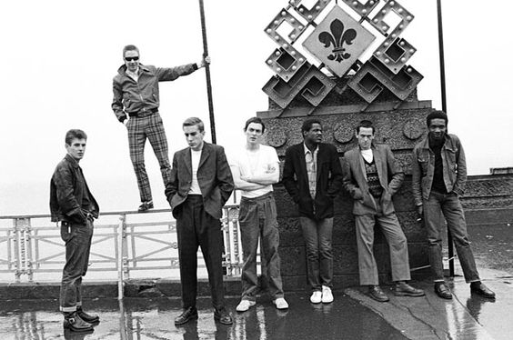 The Specials photographed by Janette Beckman, 1981.