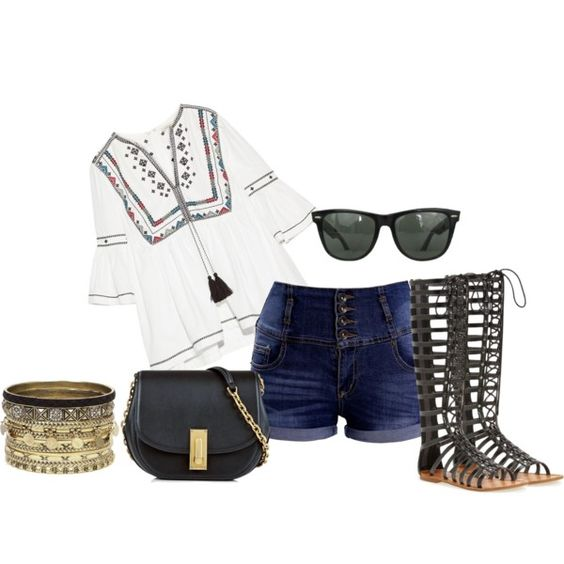 21 by vicinogiovanna on Polyvore featuring moda, Talitha, ZIGIgirl, Marc Jacobs, Daytrip and Ray-Ban: