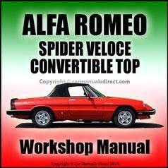 Alfa Romeo Spider Veloce Convertible Top Repair Manual Ferraripink Alfa Romeo Spider Alfa Romeo Spider Veloce Alfa Romeo