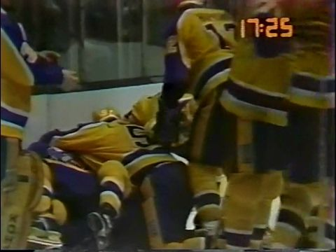 Smythe Division Semifinals Game 3 1982 04 10 Edmonton Oilers At Los Angeles Kings Stanley Cup Playoffs Tv Sport Smythe