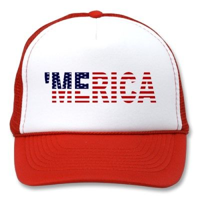 Great trucker mesh hat for 4th of July Parties!  Or ANY other day!  Only $14.95