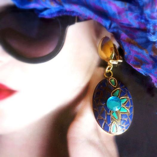 Beautiful shades of blue by Shirdi on Etsy