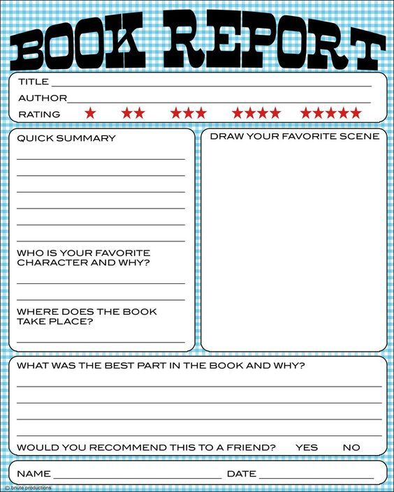 Easy Ways to Write a Good Summary for a Book Report Book Report thumbnail