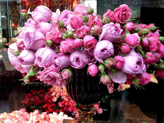 peonies at hotel costes paris oh how i love flowers pinterest beautiful fleur et bouquets. Black Bedroom Furniture Sets. Home Design Ideas