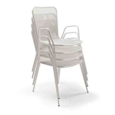 Set of Four Vista Stacking Chairs