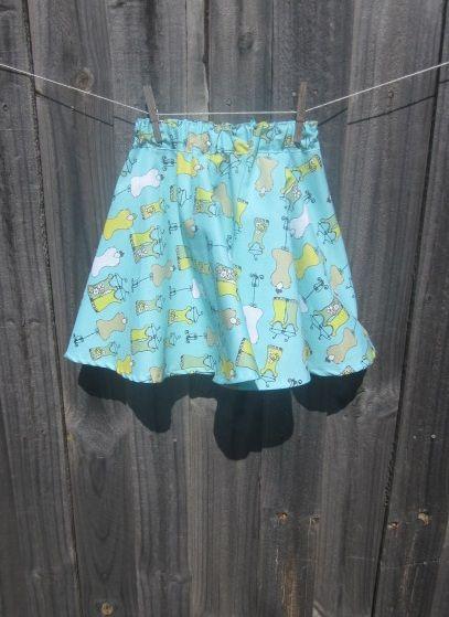 Make A Circle Skirt 24