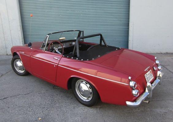 1967 Datsun 1600 Roadster For Sale Rear