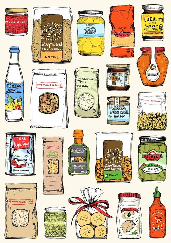 May van Millingen - 20 food illustration tips from leading creatives - Digital Arts  Stop by my Etsy Shop: www.etsy.com/shop/TeoldDesign: