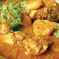 Burmese Chicken Curry. Good recipe! Made it exactly, except I didn't have lemon grass.