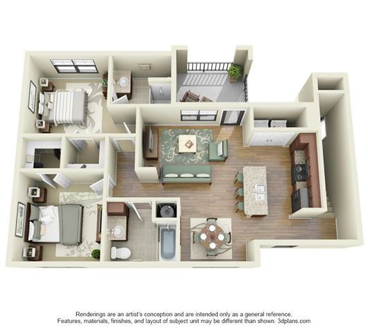 Pinterest the world s catalog of ideas for Three car garage with loft apartment