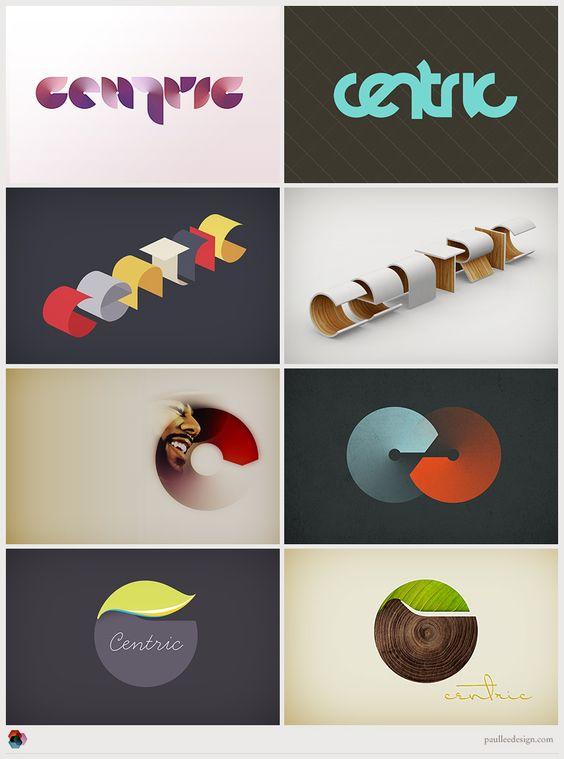 centric: Graphic Design, Logo Design, Logo Identity, Logos Design, Logos Paul, Branding Identity, Lee Design