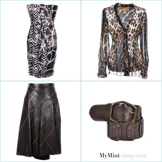 TUESDAY´S NEW ARRIVALS! Dress: #HugoBoss Top: #RobertoCavvalli Skirt: #Strenesse Belt: #DolceGabbana