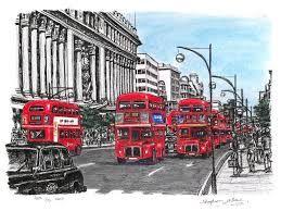 stephen wiltshire - London Buses