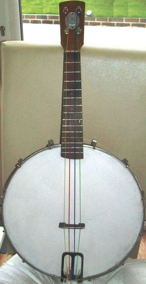 Illinois Guarantee metal rim Banjolele
