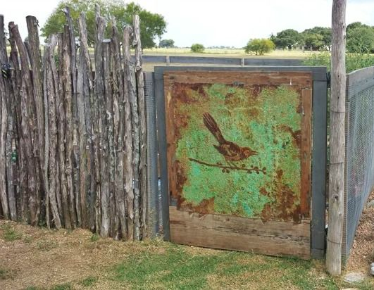 Metal Effects Verdigris And Rust Patinas As Artwork Bird