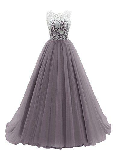 Dresstells Women's Long Tulle Ball Gowns Wedding Dress Evening Formal Party Maxi Dress Grey Size 6 Dresstells http://www.amazon.co.uk/dp/B00R7J013S/ref=cm_sw_r_pi_dp_K5CIwb0C7JR17