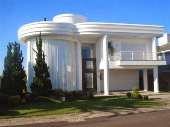 Decor salteado blog de decora o arquitetura for Modelos de fachadas de casas
