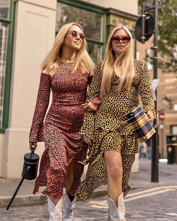 Our looks for day 4 of #LFW were these beautiful @neverfullydressed animal print dresses, if you haven't already, head to their stories to…