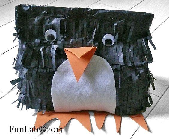 Idee per feste di compleanno: pinguino pentolaccia fai da te