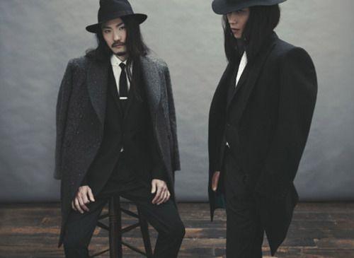 I always knew Yakuza Rabbi chic would be the next big trend in fashion.