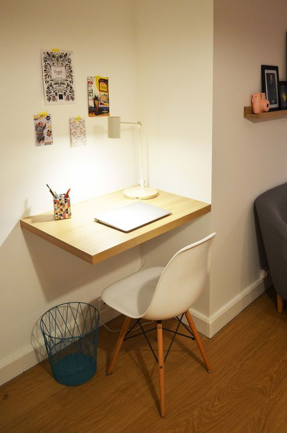 16 Escritorios minimalistas que toda universitaria necesita
