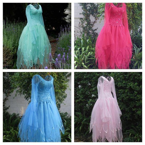 Adult Fairy DressGothic Halloween Costume PLUS by CostumesPlusMore