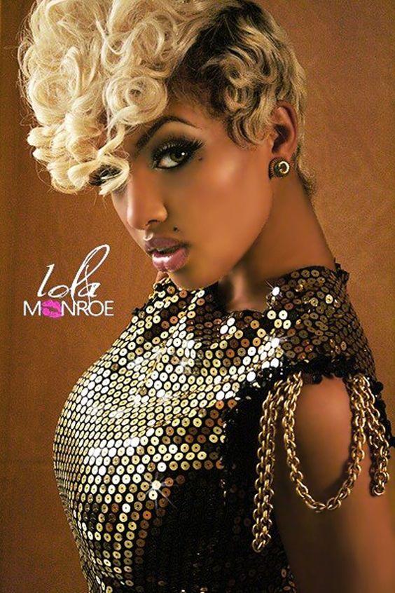 Cool The O39Jays Black Women And Lola Monroe On Pinterest Short Hairstyles Gunalazisus