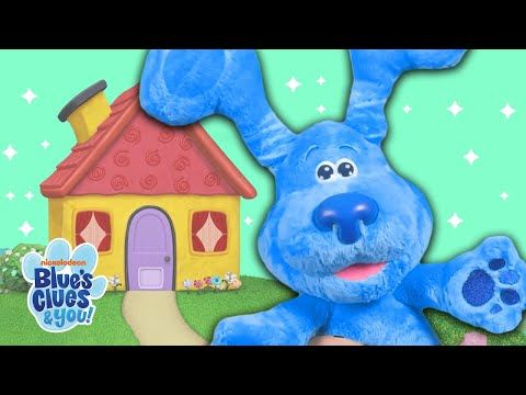 Blue And Magenta Toys Play Hide And Seek Together They Each Count Down To 10 Before Finding One Another Do You Want Blues Clues Games W Chalk Paint Makeover