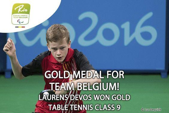 Paralympic Games - Team Belgium | Rio 2016 - Laurens Devos