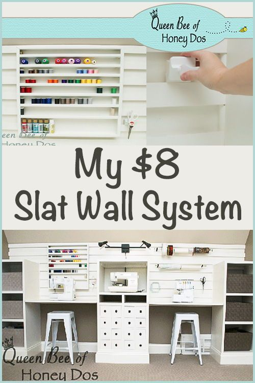 Wall Storage System For Just 8 Wall Storage Systems Diy Storage Easy Slat Wall Storage