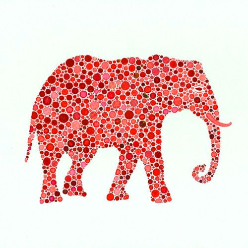 there's a pink elephant in the room