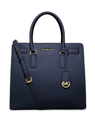 MICHAEL MICHAEL KORS Dillon Large North South Saffiano Leather Tote Bag