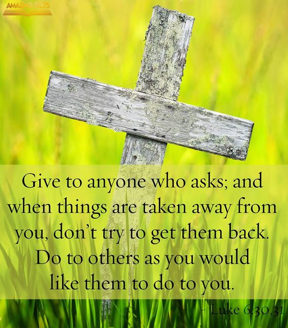Bible Am Going To Deliver You: [Jesus Said] Give To Everyone Who Asks You, And If Anyone