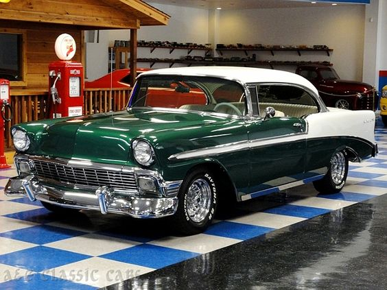 1955 Chevy Bel Air 2-Door hard-top. Yes my Dream car, but ...